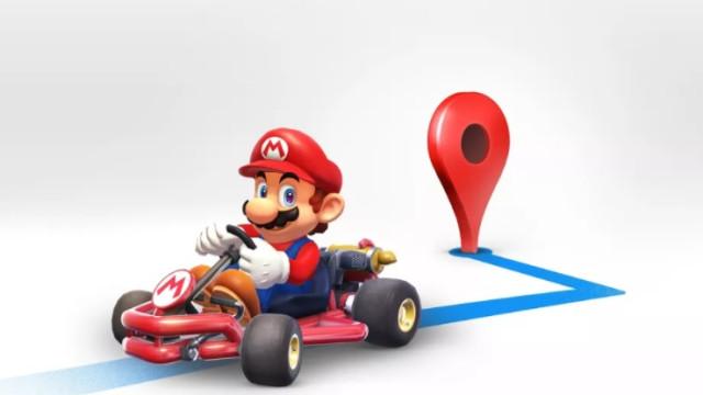 'Super Mário' invade o Google Maps