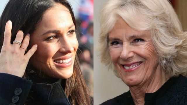 Antes do casamento, Meghan Markle pede conselhos a Camilla
