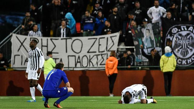 Governo grego suspendeu o campeonato