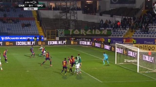 Benfica reage ao primeiro golo do Sporting em Chaves