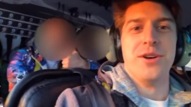 Vítima de queda de helicóptero partilhou vídeo antes de morrer