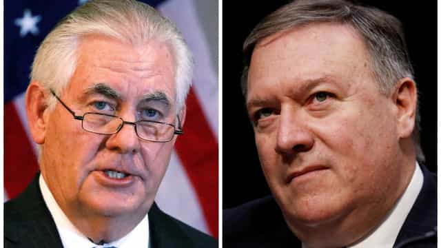 Donald Trump afasta Rex Tillerson. Mike Pompeo assume o lugar
