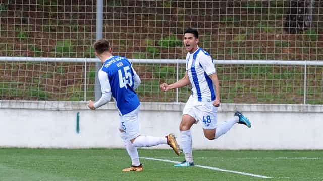 FC Porto bate Tottenham e está nas 'meias' da UEFA Youth League