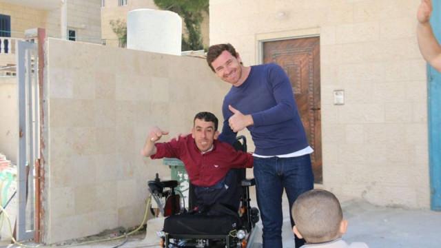 Villas-Boas esteve na Palestina e o motivo pode surpreendê-lo