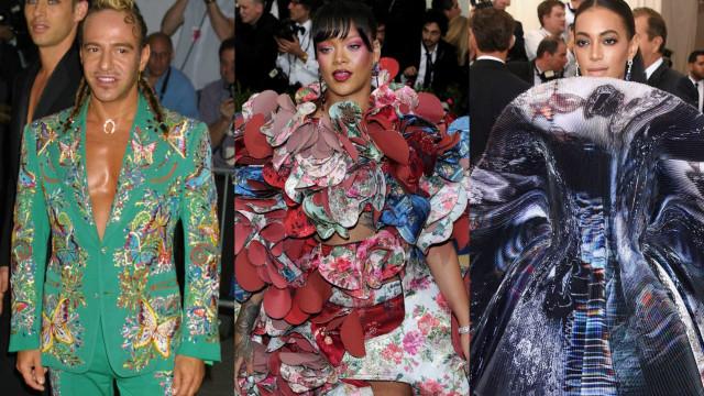 Os vestidos mais bizarros de sempre da Met Gala