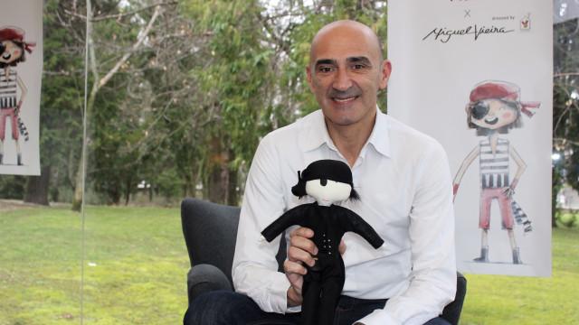 Miguel Vieira veste Pedro, o pirata solidário da McDonald