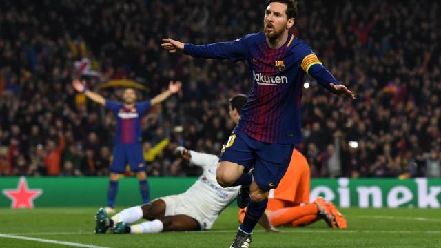 Ambição britânica esbarrou com magia de Lionel Messi