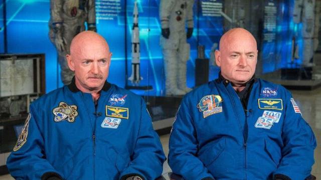 Genes de astronauta já não são idênticos aos do irmão gémeo