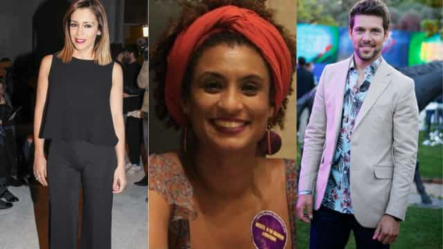 Após assassinato, famosos portugueses homenageiam Marielle Franco