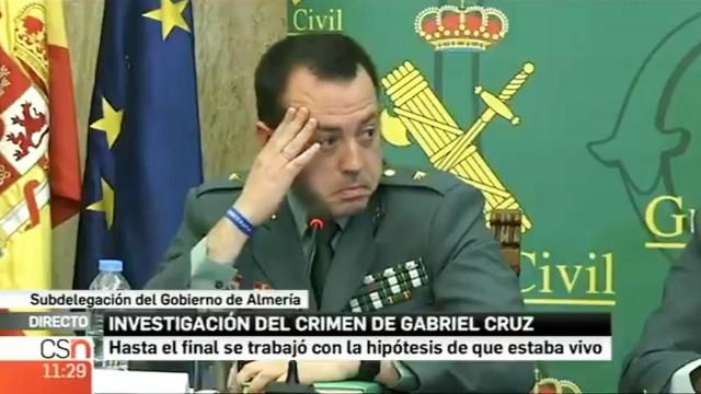 """Em conferência emocionada, Guardia Civil garante que Gabriel """"não sofreu"""""""