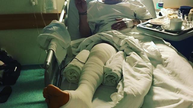 No hospital, 'ex' de Isabel Figueira agradece carinho recebido