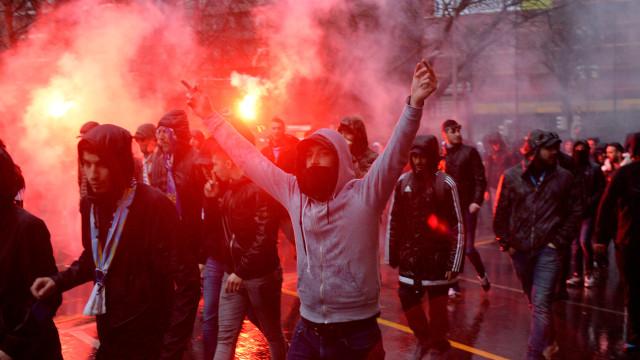 Claque do Marselha esfaqueou dois seguranças do estádio de San Mamés