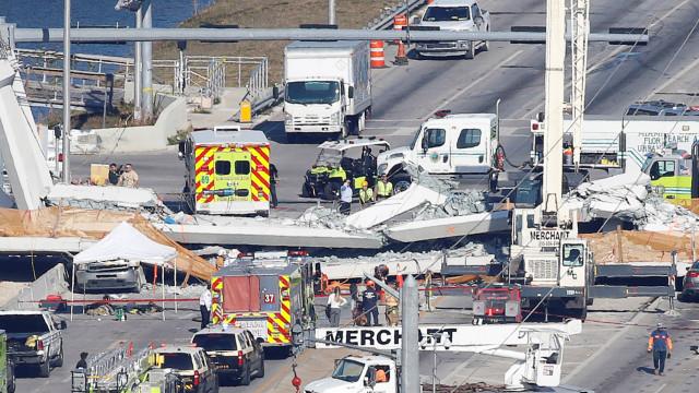 Colapso de ponte em Miami resultou em, pelo menos, seis mortos