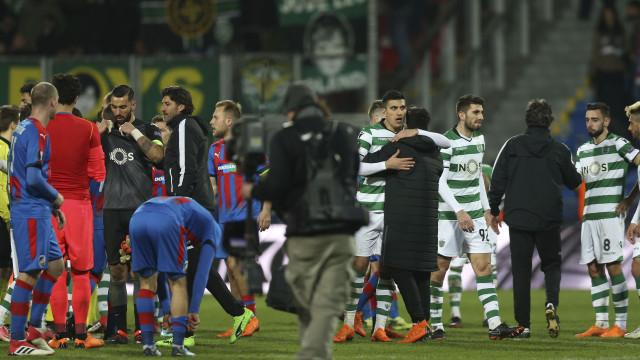 Sporting defronta Atlético de Madrid nos 'quartos' da Liga Europa