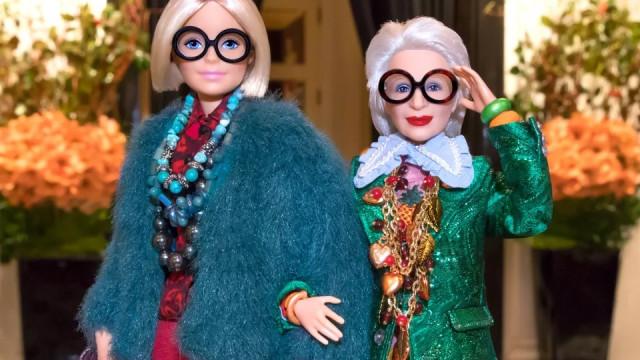 A Barbie criou uma Iris Apfel em miniatura