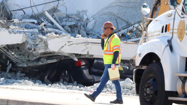 Engenheiro de ponte que colapsou alertou para fissura dois dias antes