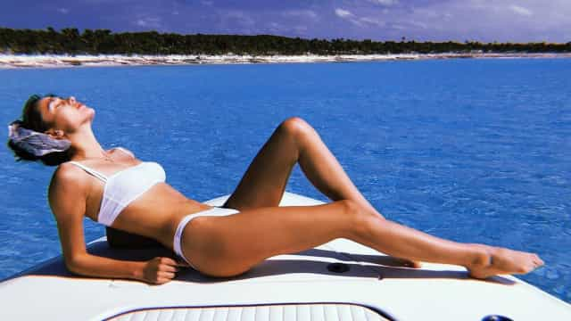 Gabby Westbrook: Com belezas assim fica difícil trabalhar