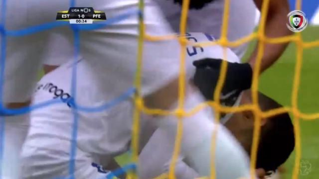 Mais um golo supersónico na I Liga. Estoril só precisou de 19 segundos