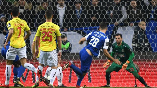 [1-0] FC Porto-Boavista: Jogo morno no Dragão