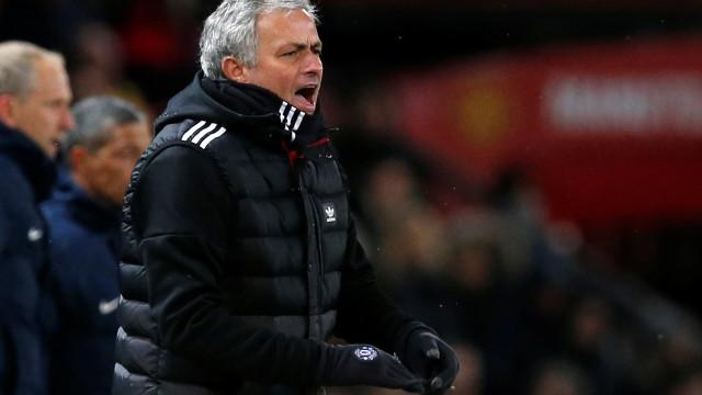 """Mourinho criticou jogadores: """"Faltou personalidade, classe e vontade"""""""