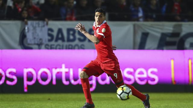 Jiménez resgatou o Benfica no campo mais 'indisciplinado' da Liga