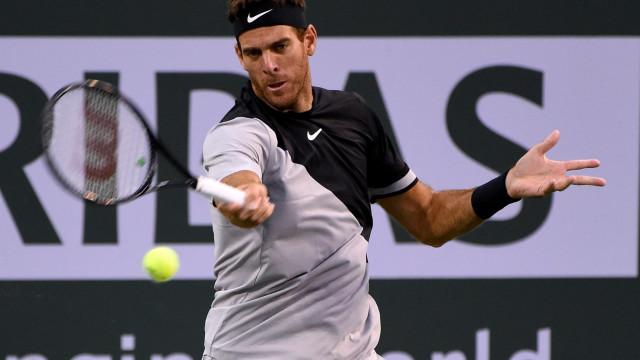 Indian Wells: Del Potro afasta Raonic e defronta Federer na final