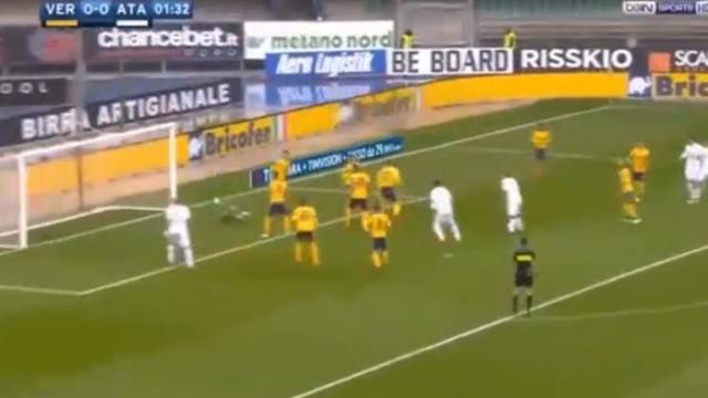 Cristante responde à chamada da seleção com um golo no Verona-Atalanta