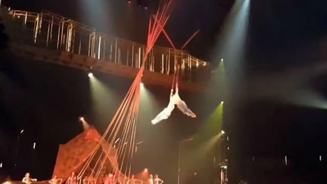 Acrobata do Cirque du Soleil morre após queda durante espetáculo