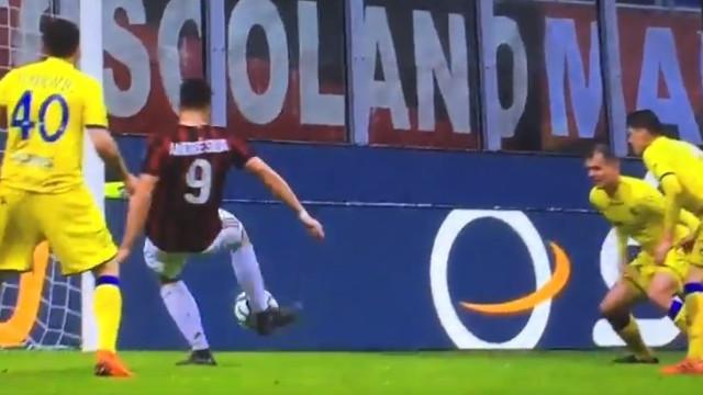 André Silva voltou a ser talismã para o AC Milan