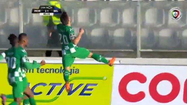 Tozé surgiu com 'pés de veludo' e deu a vitória ao Moreirense