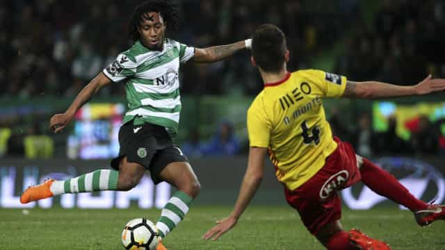[1-0] Sporting - Rio Ave: Intervalo