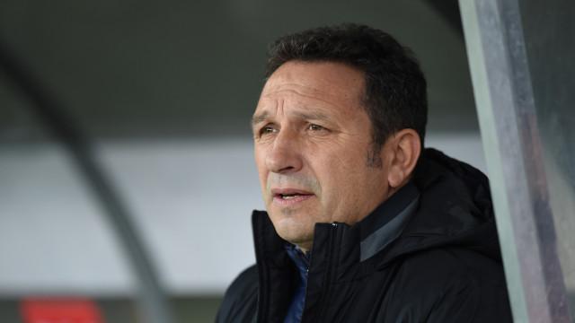 Real Sociedad despede treinador Eusebio Sacristán