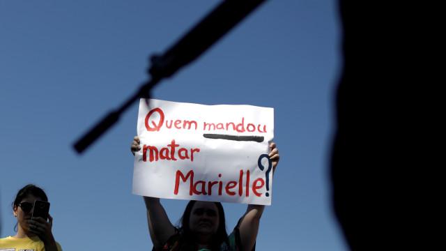 Cerca de 500 pessoas protestam em Lisboa contra assassínio de Marielle