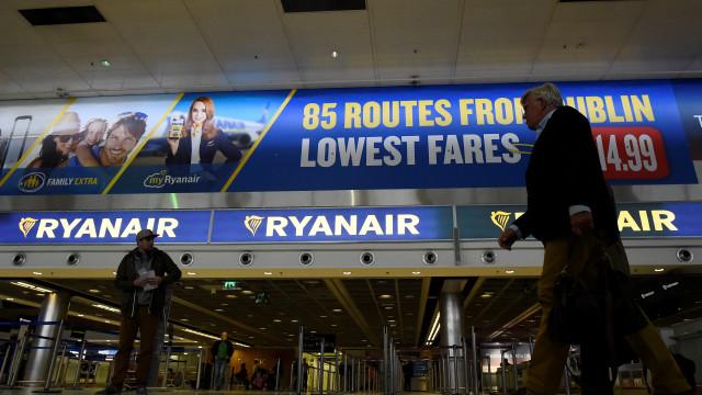 Ryanair cancela 190 voos devido a greve, incluindo em Portugal