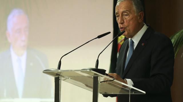 Marcelo recebido por Felipe VI e Rajoy em visita de Estado à Espanha