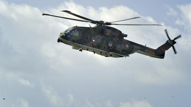 Helicóptero da Força Aérea resgatou sexagenário britânico nos Açores