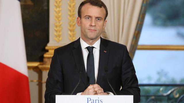 Macron reunido com a célula de crise devido a tiroteio em Estrasburgo