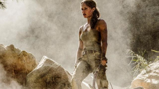 'Tomb Raider' agarra liderança de box-office no fim de semana de estreia