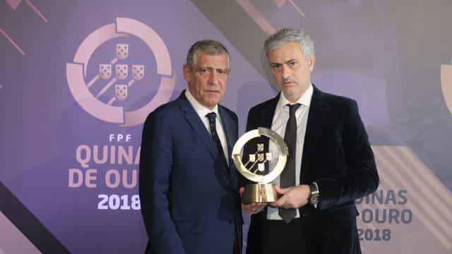 O discurso emocionado de José Mourinho após receber o troféu
