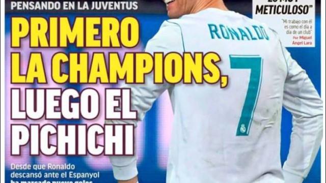 Imprensa internacional: Destaque para Ronaldo ao domínio do Barcelona