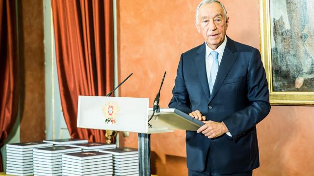 Marcelo discute política de asilo europeia com Presidente austríaco