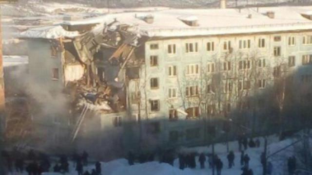 Edifício residencial desmoronou na Rússia. Há pelo menos um morto