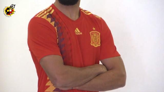 Espanha apresenta os novos equipamentos para o Mundial