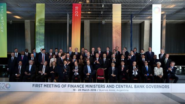 Ministros do G20 receiam que tensão prejudique crescimento mundial
