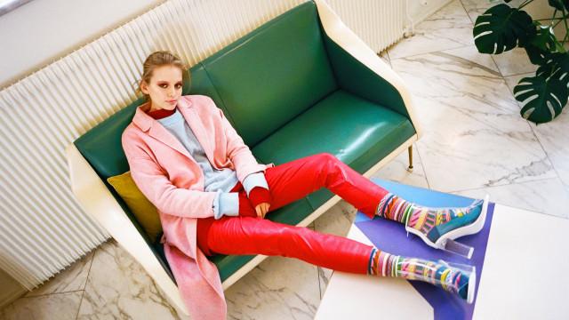 A nova coleção da Happy Socks é como uma 'pequena peça de luxo'
