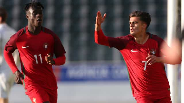 Portugal 'atropela' Ucrânia e está na final do Euro de sub-19