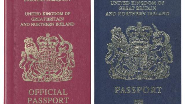 Passaportes pós-Brexit vão ser feitos por empresa... franco-holandesa