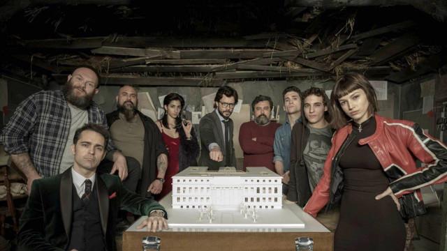 Netflix deseja boa sorte para os exames com… 'La Casa de Papel'