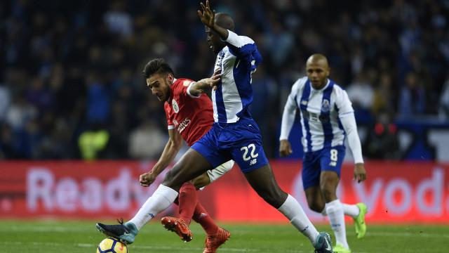 Danilo deverá estar 'no ponto' a tempo do Benfica