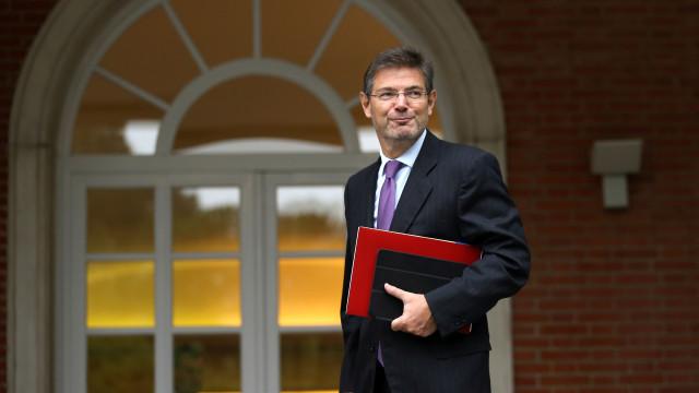 Ministro acusa independentistas de confrontação com Estado de Direito
